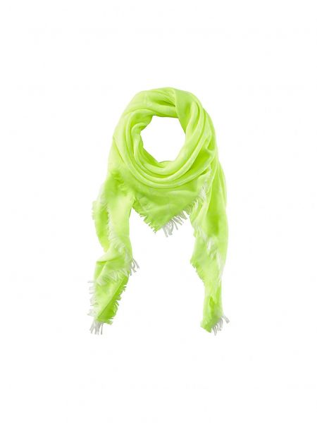 Scarf with Print - neon